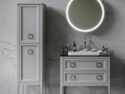 Colonna Vintage Bianco Opaco Bagno Piu Мебель для ванной