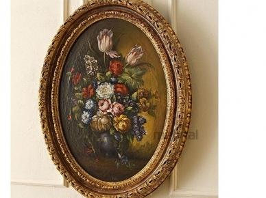 Картины 4000 Овальная картина Цветы (Andrea Fanfani)