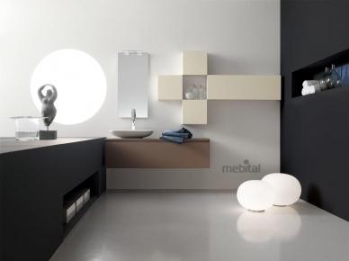 ZERO4 LAMINAM, COMP. 9 Arcom Мебель для ванной