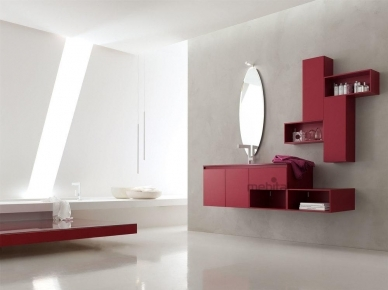 ZERO4 GLASS, COMP. 1 Arcom Мебель для ванной