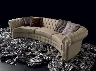 Итальянский диван Chester Curvo, Capitonne (Altavilla)