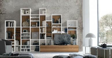 А086 Gruppo Tomasella Книжный шкаф