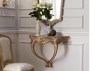 3016 Консольный столик с ящиком (L22) Andrea Fanfani Консольный столик