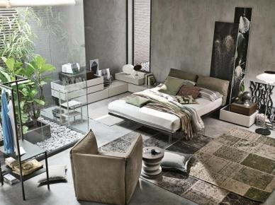 Мягкая кровать PIUMA (Tomasella)