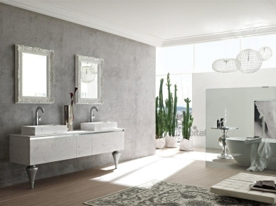 ZERO4 MARBLE, COMP. 1 Arcom Мебель для ванной