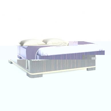 Кровать Augustus 00LT50 (Seven Sedie)