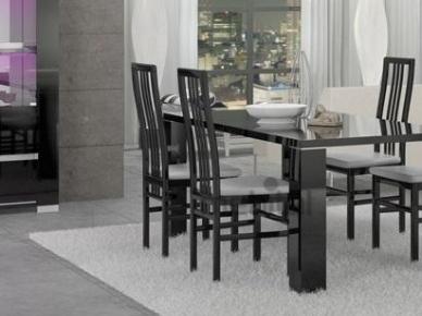 ARMONIA BLACK STATUS Деревянный стул
