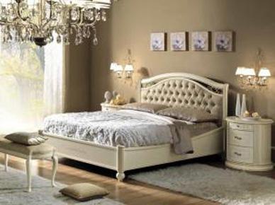 Итальянская кровать Siena Avorio (с контейнером) (Camelgroup)