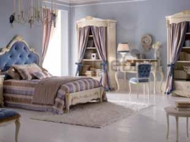 Comp. 15, Orleans Blue Ghezzani Спальня