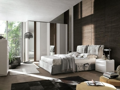 Мягкая кровать AMAMI (Tomasella)