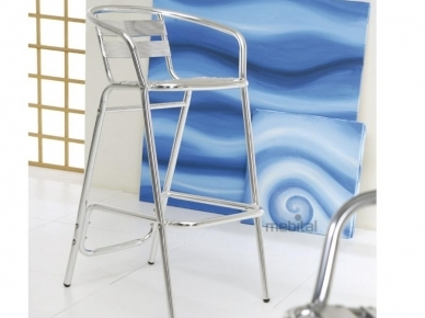 Allumix Stool, Art. 1772 La Seggiola Металлический стул