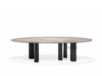 ROLL KERAMIK Cattelan Italia Овальный стол