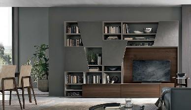 А028 Gruppo Tomasella Книжный шкаф