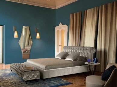 Мягкая кровать Alfred Controluce (Alberta Salotti)