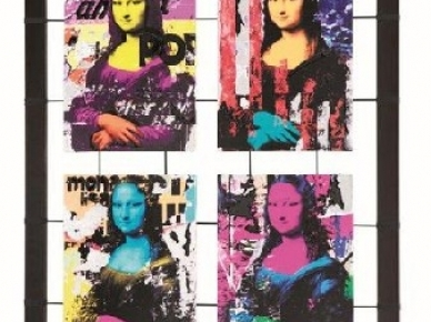 MONNA LISA POP - P-3530 Pintdecor Картина
