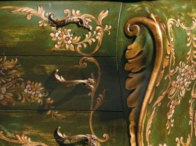 Комод 283/D Комод зеленый с декором (Andrea Fanfani)