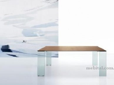 Раскладной деревянный стол Aria (Miniforms)