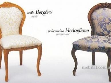 Bergere 436, Madaglione 524 Morello Gianpaolo Деревянный стул