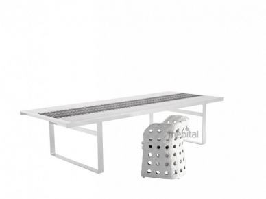 Canasta 224 B&B Italia Нераскладной стол
