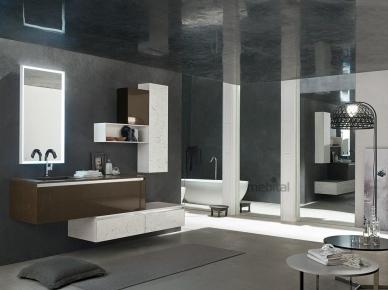 ZERO4 MARBLE, COMP. 3 Arcom Мебель для ванной