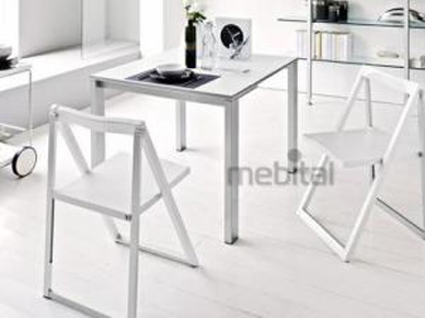 Раскладной стул Skip (в белом цвете) (Calligaris)