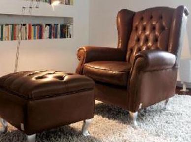 Итальянское кресло Bergere (Doimo Sofas)