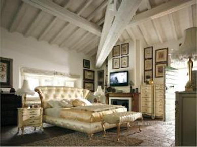 Мягкая кровать Capri 35 (Volpi)