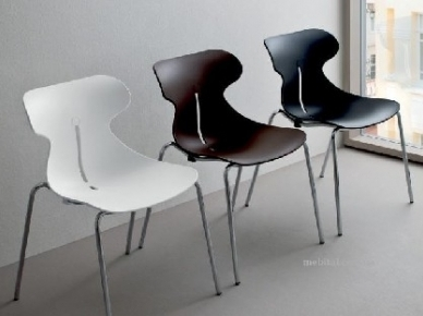 COCCINELLA Sedit Металлический стул