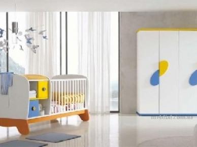 Детская для новорожденных Clown (трансформируемая мебель) (Doimo CityLine)