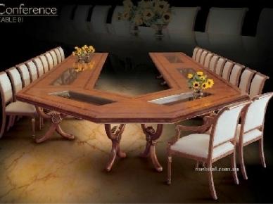 Conference Table 01 Angelo Cappellini Мебель для переговорной