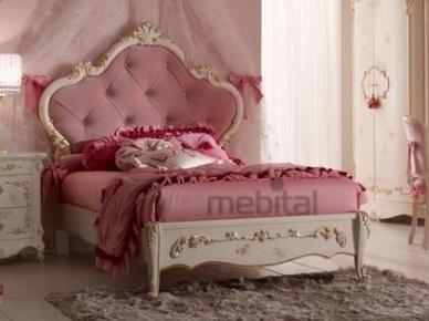 Кровать BC 2004, Orleans Pink (Ghezzani)