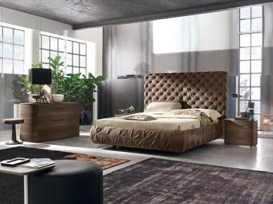 Мягкая кровать CHANTAL (Tomasella)