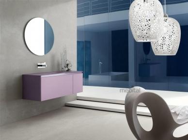 ZERO4 GLASS, COMP. 2 Arcom Мебель для ванной
