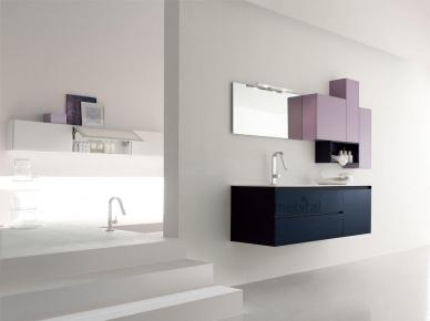 ZERO4 GLASS, COMP. 4 Arcom Мебель для ванной