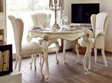 CAPRI - CRISTALLO Volpi Деревянный стул