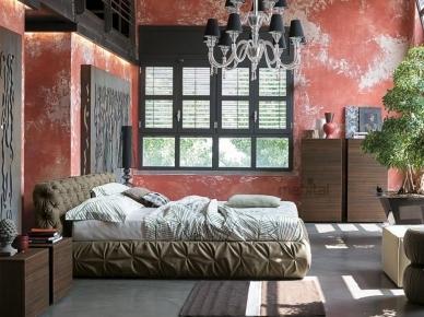 Мягкая кровать CHANTAL basso (Tomasella)
