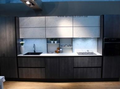 Итальянская кухня GLASS Plank Grey (Arredo3)