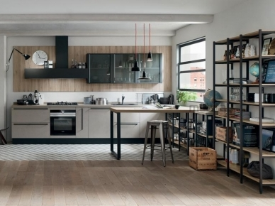 QUICK DESIGN, START-TIME Veneta Cucine Итальянская кухня
