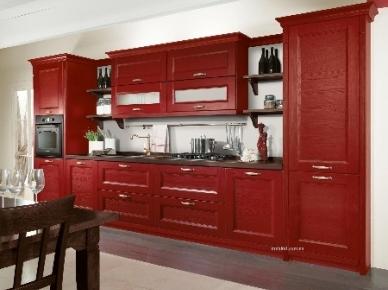 GIOIOSA rosso (Джойоза красный) Arredo3 Итальянская кухня