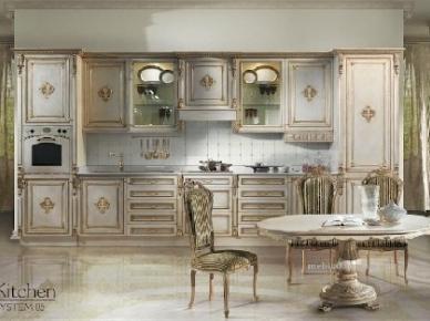 Kitchen System 05 Angelo Cappellini Итальянская кухня