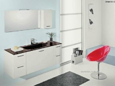Мебель для ванной Loft Comp. 02 (Лофт Композиция 02) (Bagno Piu)