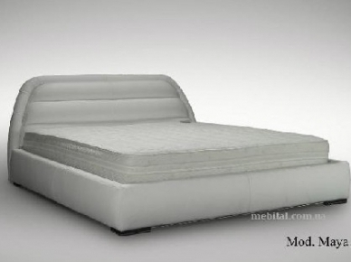 Мягкая кровать Maya 1 (Satis)