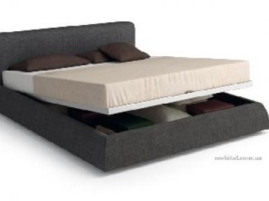 Мягкая кровать Basis Contenitore (MERCANTINI)