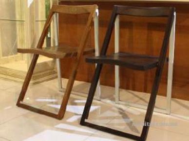 Раскладной стул Skip (в цвете орех или венге) (Calligaris)