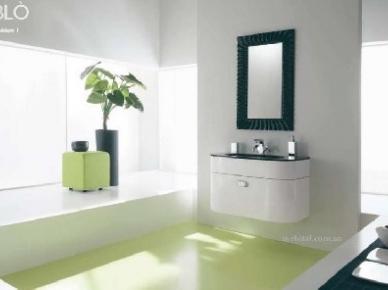 Oblo Comp. 01 (Обло Композиция 1) Bagno Piu Мебель для ванной