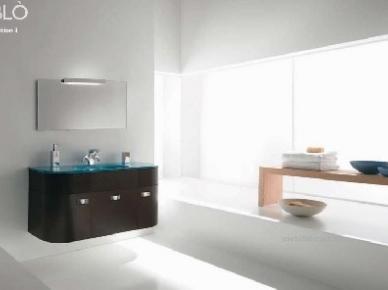Oblo Comp. 03 (Обло Композиция 3) Bagno Piu Мебель для ванной