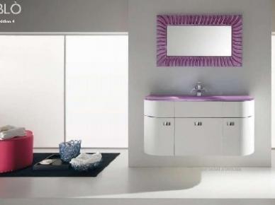 Oblo Comp. 04 (Обло Композиция 4) Bagno Piu Мебель для ванной