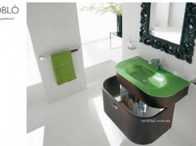 Oblo Comp. 05 (Обло Композиция 5) Bagno Piu Мебель для ванной