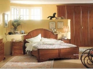VIA VENETO NOCE Favero Спальня