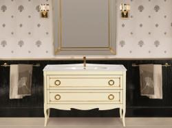 Moretta 2.0 122 Avorio Con Oro Opaco Bagno Piu Мебель для ванной